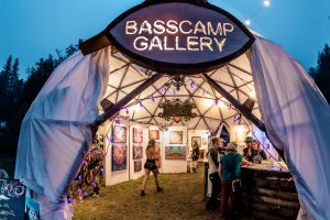 Shambhala 2018 BASScamp Art Gallery Applications are OPEN