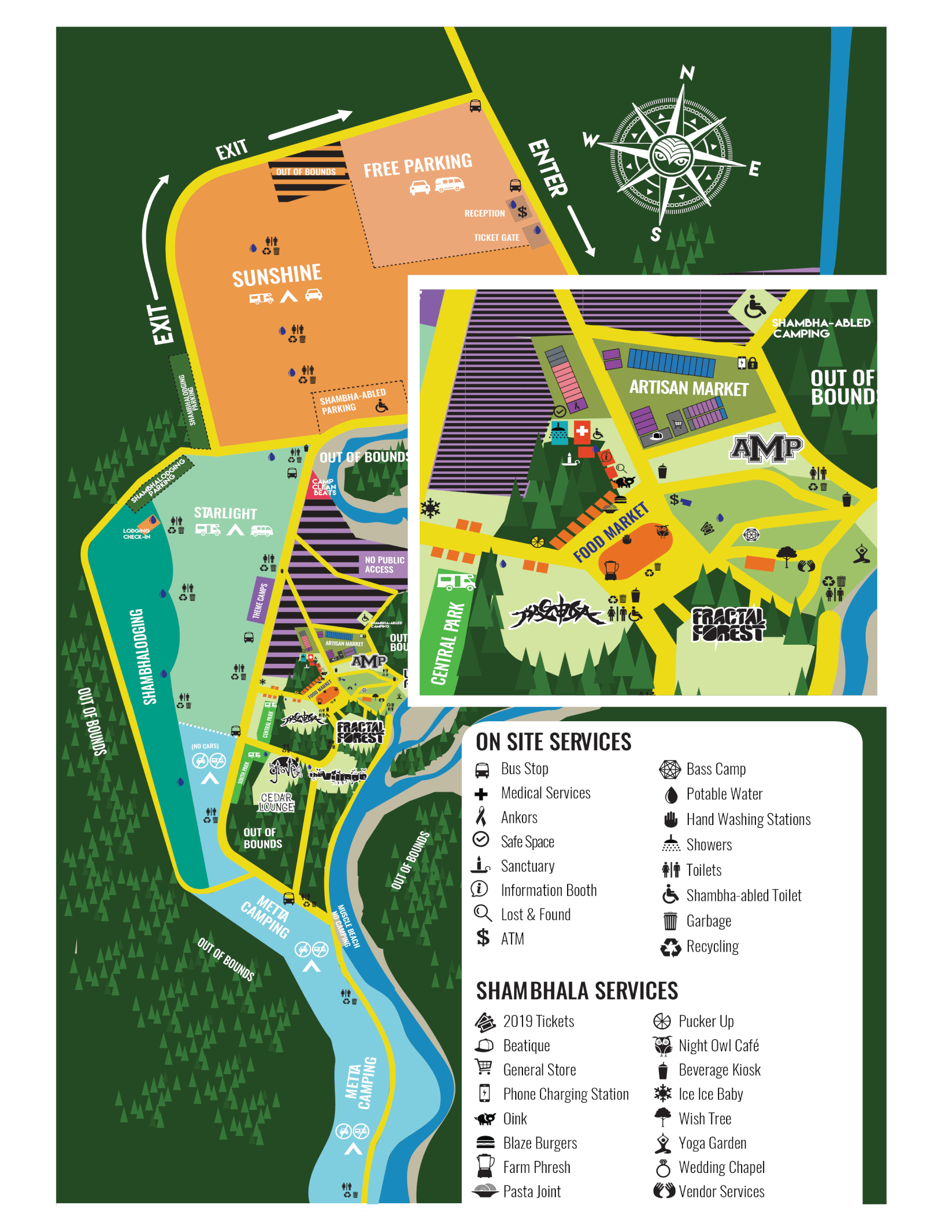Shambhala Music Festival - Plan Your Journey
